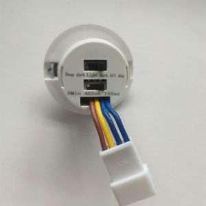 40mm LED PIR Detector Infrared Motion Sensor Switch with Time Delay Adjustable 35ED(China)