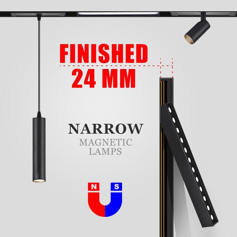 (MINI) SCON New Arrival 24V Ra98  MINI Magnetic Lamp Series For 24mm Track Rails