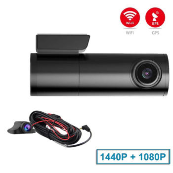 Mini Hidden Car Dash Cam DVR with WiFi Dual Lens Car Camera Dash Cam Wifi Dual Dash Cam Dual Wifi Car Dash Camera Wifi Dash Cam