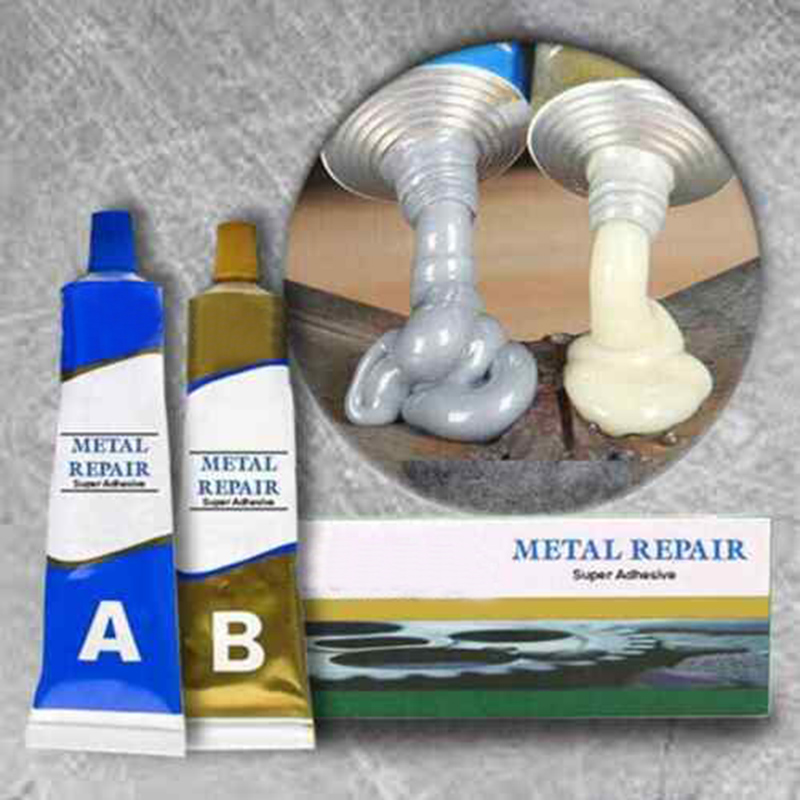 2019 New Industrial Repair Paste Glue Heat Resistance Cold Weld Metal Repair Paste L5 #4