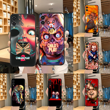 Child's Play cult of chucky Phone case For Huawei Honor 6A 7A 7C 8 8A 8X 9 9X 10 10i 20 Lite Pro Play black back tpu cover image