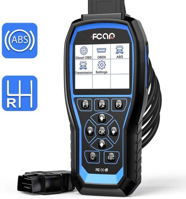 FCAR F507 OBD2 אבחון כלים למחוק קודי קורא לקרוא ECU מנוע ABS שידור Heavy Duty משאית משלוח עדכון רכב סריקה כלי