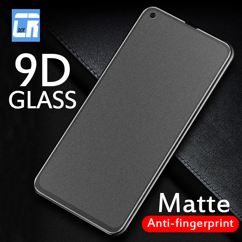 9D Matte Screen Protector Tempered Glass For Huawei Honor 20S 8A 8C 8S 7A 7C 8X 9X 10 20 Lite Anti-fingerprint Protective Film