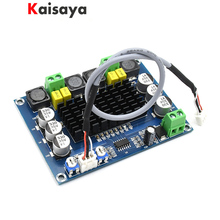 Tpa3116 duplo canal classe d placa amplificador de áudio potência digital 120w + 120 amplificador estéreo dc 24v C3 002