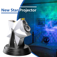Creative Romantic Starry Sky Projector Light 270 Degree Rotation Star Projection Night Lamp for Bedroom Home Decoration