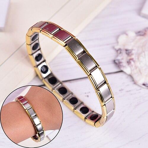 New Tourmaline Energy Balance Bracelet Tourmaline Bracelet For Men Women Health Care Jewelry Germanium Bracelets Bangle Slimming