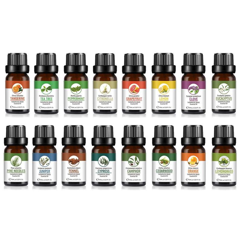 10ml Flavours Essential Oils Pure Plant Relieve Stress Air Freshening Essential Oils Therapeutic Grade Aromatherapy Aroma Oil