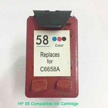 Сменный цветной картридж Vilaxh, совместимый с HP 58, 450ci, 450cbi, 450Wbt, 5150, 5150, 5550, 5650, 5650, 5850, 9650
