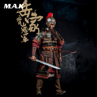 For Collection SD003 1/6 Full Set Song Dynasty Warrior of Army Yue Ancient Soldier Action Figure Model for Fans Holiday Gifts