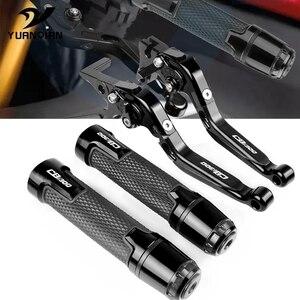 Motorcycle CNC Aluminum Extendable Adjustable Brake Clutch Lever Handlebar Grips FOR HONDA CB1300 CB 1300 X4 SC38 1997 1998 1999(China)