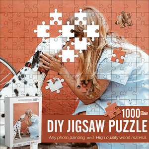 1000 Pieces Photo DIY Jigsaw Puzzle Perfect Idea As Personalized Gift For You Jigsaw Adults&Children Custom wooden Puzzle toys