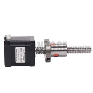 Image 4 - 3pcs 17HS8401S SFU1204 1.8A 52N.CM  Nema17 Stepper Motor   4 lead L100/200/300mm for 3D printer CNC Nema 17 ballscrew motor