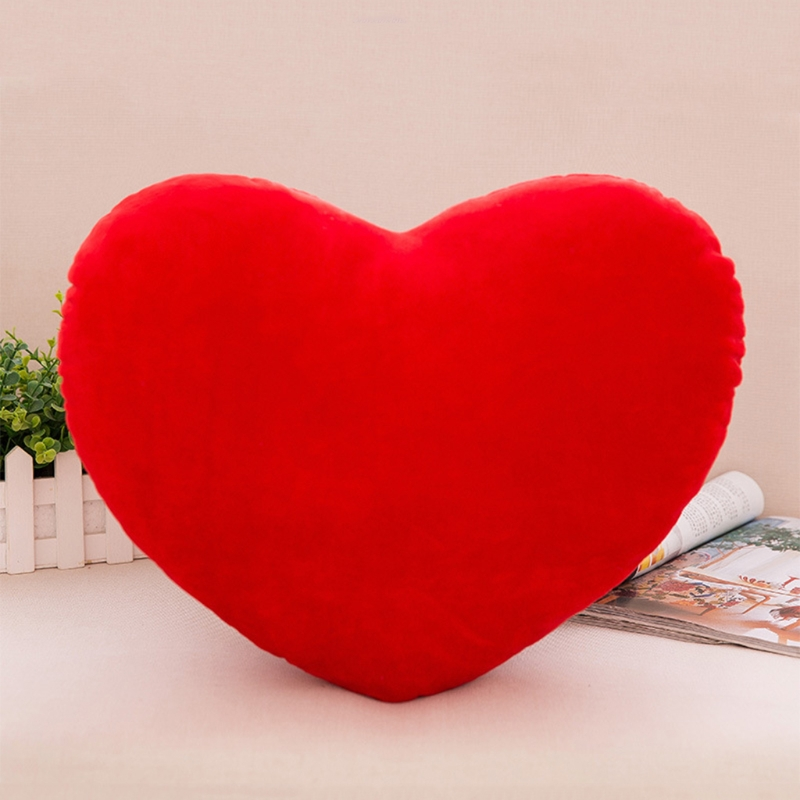 40cm Heart Shape Decorative Throw Pillow PP Cotton Soft Creative Doll Lover Gift 72XC