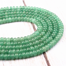Green Tomb  Natural Agate Gem 4X6MM5X8MM Abacus Bead Spacer Bead Wheel Bead Accessory For Jewelry Making Diy Bracelet Necklace