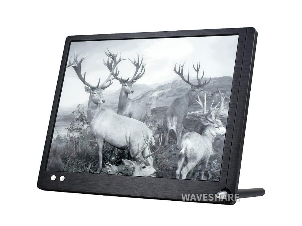 10.3inch E-paper Monitor, EU Version  HDMI Display Interface, Eye Care, Supports Raspberry Pi/Jetson Nano/PC