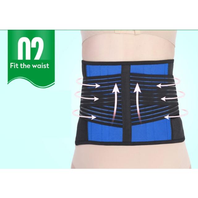 Women Adjustable Elstiac Waist Support Belt Neoprene Faja Lumbar Back Sweat Belt Fitness Belt Waist Trainer Heuptas For Sports 5