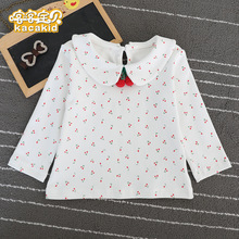Top T-Shirt Long-Sleeves Toddler Baby-Girl KACAKID Cotton Flower Official Comfort Cute