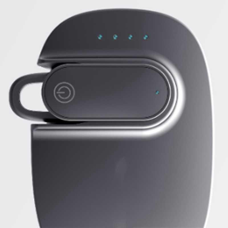 ABKK-Solar Fahrzeug Bluetooth Headset Fahrzeug Mit Batterie Lager Einzel-Ohr Bluetooth Headset 5,0 Einzel-Ohr Bluetooth headse