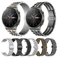 Pols Bandjes Band Voor Huawei Horloge Gt 2 Pro Gt2pro Metalen Roestvrij Stalen Band Armband Voor Huawei Gt2 Pro Horlogeband accessoires