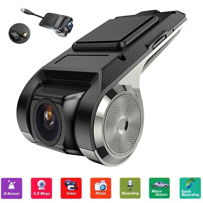 Jerry U2 300 Вт Ультра HD gps Автомобильный видеорегистратор Dvr с 1280P AVI MP4 ADAS заднего вида ночного видения двойной объектив Dashcam