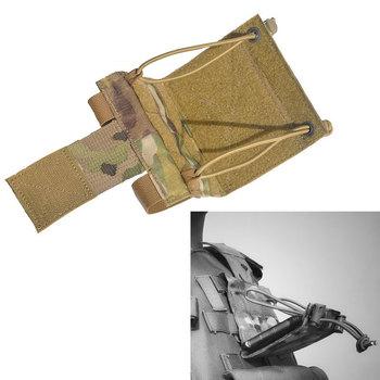 Kamizelka taktyczna torba na telefon komórkowy wojskowy Molle Panel przedni pokrowiec na zewnątrz polowanie Airsoft Paintball Admin etui tanie i dobre opinie TRIBAL HAWK CN (pochodzenie) NYLON