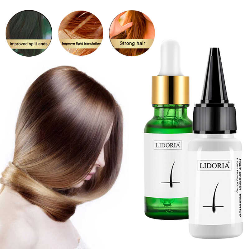 Polygonum Multiflorum Hair Serum Essenceที่มีประสิทธิภาพGrowth Essence Hair Loss Treatment Hair Care Anti-Off 20Ml TSLM1