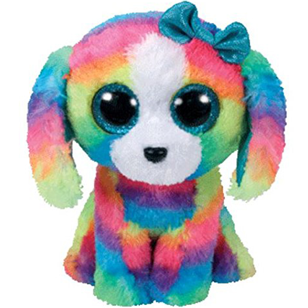 Ty Lola The Dog Plush Animal Toys Stuffed Doll Gift 15cm