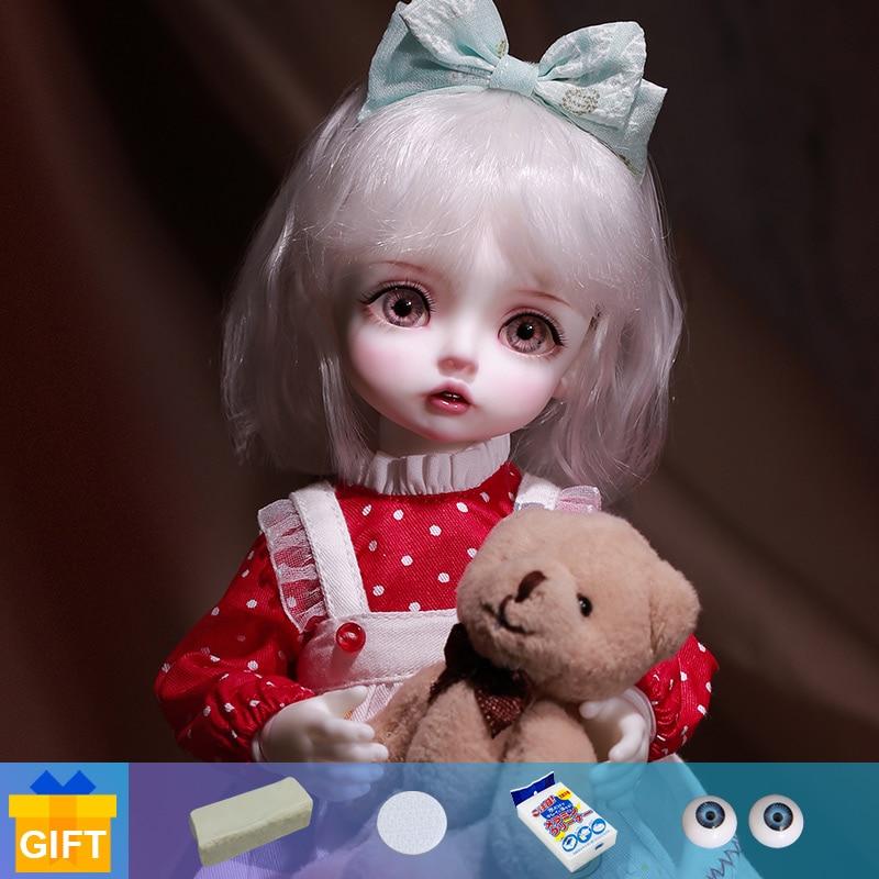 Nine9 Lola Doll BJD 1/6 Yosd Body Luola Fullset Complete Professional Makeup Toys For Girls High Fashion Surprise Gifts