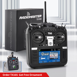 In Stock RadioMaster TX16S TBS V2 Hall Sensor Gimbals 2.4G 16CH Multi-protocol RF System OpenTX Radio Transmitter For RC Drone