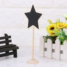 5Pcs Star Mini Wooden…