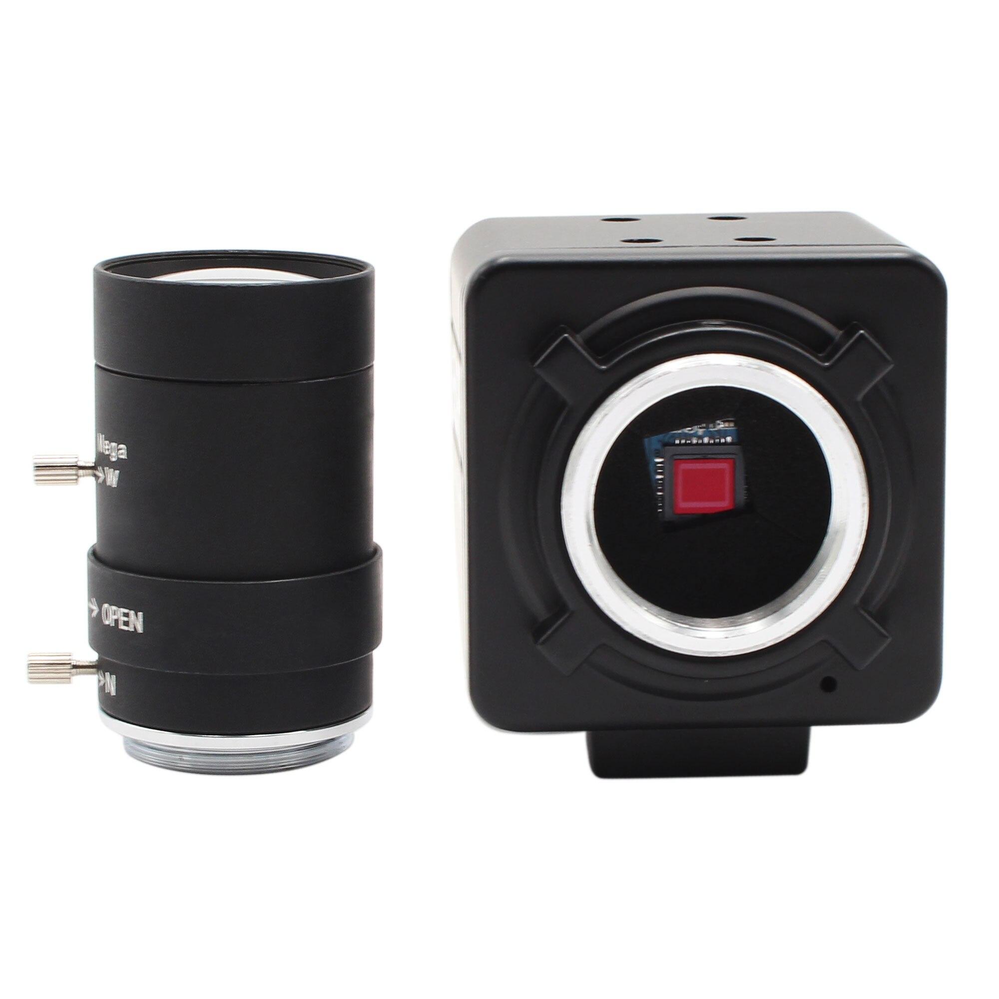 Высокоскоростная камера MJPEG 1080P 60fps/720 P 120fps/360 P 260fps UVC с датчиком omnivision ov4689 CMOS 5-50 мм варифокальный объектив CS USB веб-камера