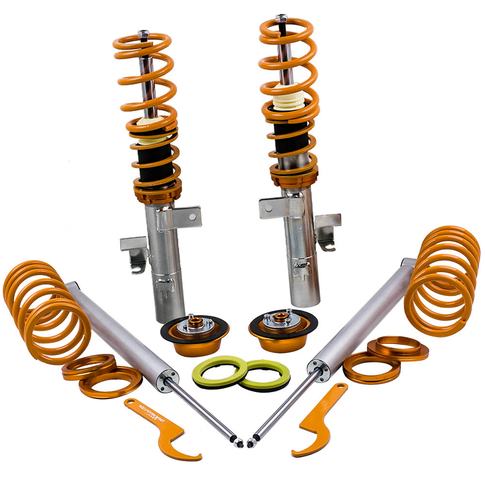 <font><b>Coilover</b></font> Shock For Ford Focus MK2 Mk II <font><b>2</b></font>.5 ST CMax MK1 03-10 1.6 1.8 <font><b>2</b></font>.0 Engine for VW <font><b>GOLF</b></font> III MK3 4CYL 95-98 Absorber Spring image