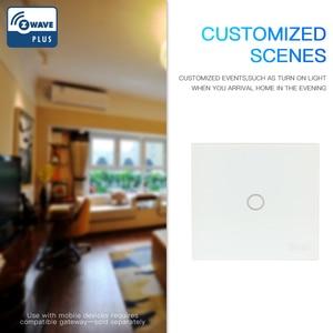 Image 2 - NEO COOLCAM Z wave plus 1CH EU Wall Light Switch Home Automation ZWave Wireless Smart Remote Control Light Switch