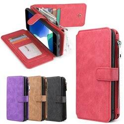 Wallet PU Leather Fashion handbag Phone Case For iPhone 6 6s 7 8 Plus X Xs Xr XsMax 11 11Pro 11ProMax 12 12Mini 12Pro 12ProMax
