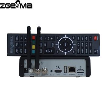 2 pçs / lote zgemma h9s 4K UHD digital deocder tv deocder dvb s2 / s2x multistream com iptv stalker com embutido wifi 1
