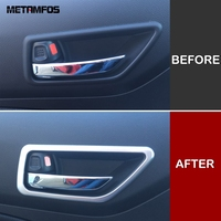 For Suzuki Swift 2017 2018 2019 Matte Inside Door Handle Bowl Protection Cover Molding Trim Interior Accessories Car Styling