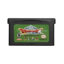 Voor Nintendo Gba Video Game Cartridge Console Card Dragon Quest Monsters Caravan Hart Engels Taal Ons Versie