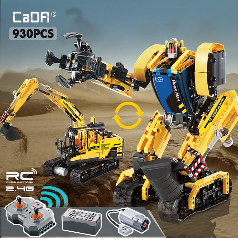 Cada C51026 RC Robot Megalithic Intelligent Building Blocks