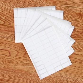 400 Uds. Pegatinas de número de almacenamiento de pintura de diamantes etiquetas autoadhesivas en blanco Paquete de etiqueta de clasificación de etiquetas adhesivas