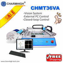 CHM-T36VA 2 Camera 'S 29 Feeders Desktop Pick And Place Machine Chmt36va, Closed-Loop Control, 0402-5050, Sop, Qfn, Tqfp ..
