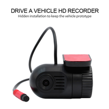 Car DVR Camera Driving Video Recorder HD 720P 140 Degree Wide Angle G-Sensor Record Sound Cyclic Recording Driving Recorder цены