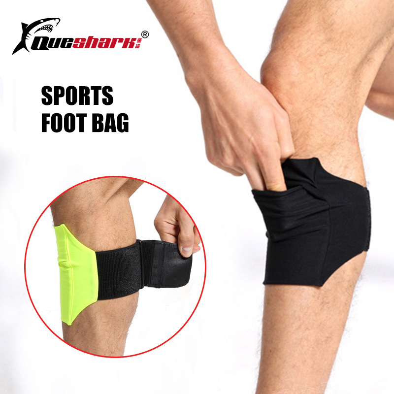 Queshark New Elastic Running Sports Calf Bag 7 Inch Mobile Phone Gym Knee Bag Crus Pouch Cycling Fitness Mini Mobile Phone Case