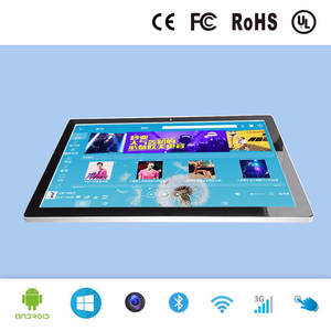 27 inch interactive touch screen kiosk with built in android operating system