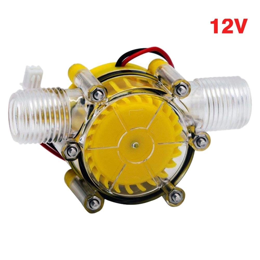 dc 5v 12v 80v bomba mini fluxo de agua da torneira conversao energia do hotel hidraulico