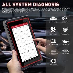 Image 3 - LAUNCH X431 Pro Mini V3.0 Full System Car Diagnostic tool OBD OBD2 Bluetooth/Wifi Code Reader Scanner X 431 Pros Mini  X431 V