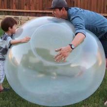 Wuble детская игрушка мяч ультра большой надувной мяч игрушки Мягкий Silcone эластичный мяч экологически чистый pai qiu пузырь