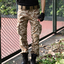 Autumn and winter Men's pants Tactical Camouflage Pants Men Military Uniform Army Outdoor Military Combat Trousers Clothes Suit