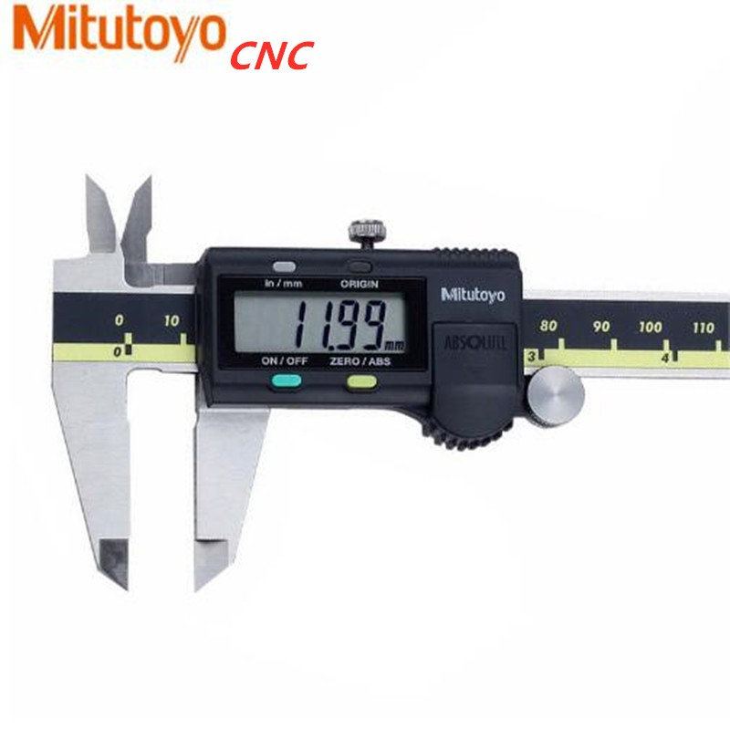 Mitutoyo CNC Caliper Absolute 500-196-30 Digital Calipers Stainless Steel Inch/Metric 8