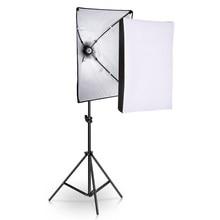 Studio Photo équipement photographie Softbox Kit d'éclairage 50x70CM professionnel système de lumière continue boîte souple