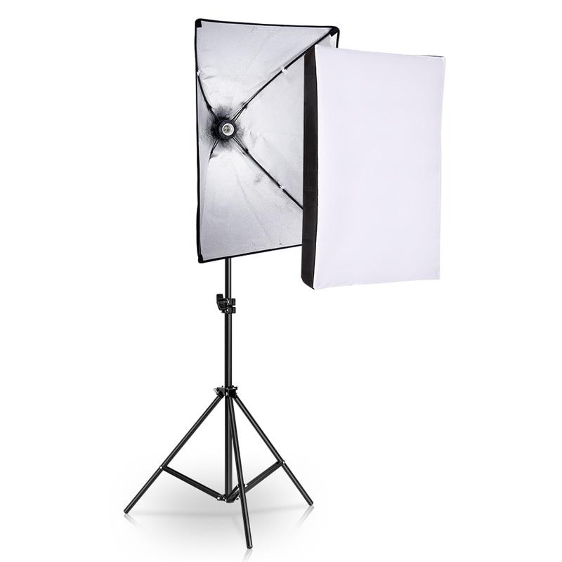 Valokuvastudion laitteiden valokuvaus softbox-valosarja 50x70cm - Kamera ja valokuva - Valokuva 1